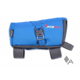 Acepac Roll Fuel Frame Bag Bike Pannier blue/black